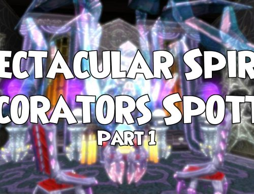 Spectacular Spiral decorators spotted (Series 1)