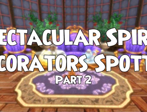 Spectacular Spiral decorators spotted (Series 2)