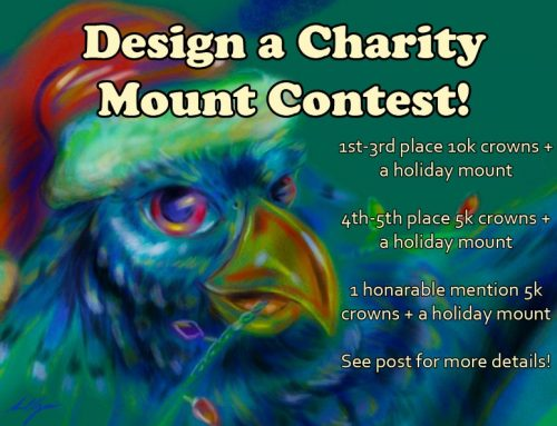 Design a Charity Mount Contest